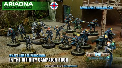 What's New for the Ariadna in the Latest Infinity Book?