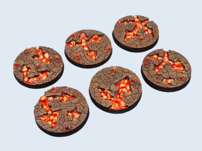 40mm Chaos Waste Bases