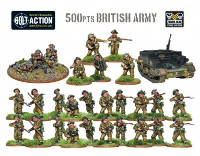 500pts British Army Deal