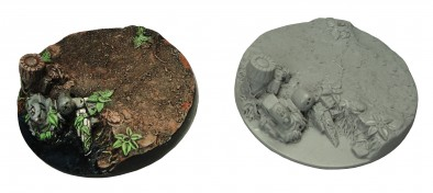 60mm Round Jungle Bases