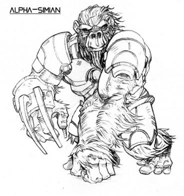 Alpha-Simian
