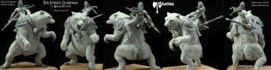 Ax Faction - Forest Guardian and Broadfoot