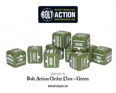 Bolt Action Order Dice