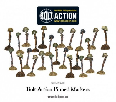 Bolt Action Pinned Markers
