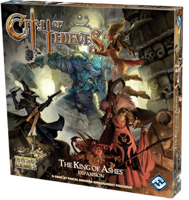 Cadwallon City of Thieves - The King of Ashes