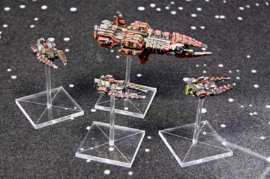 Corsairs Outlaw Class Frigate and Brigand Class Cruiser