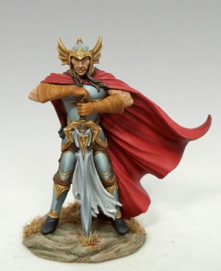 Dark Sword 10th Anniversary Male Fighter with Two Handed Dark Sword