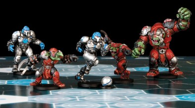 DreadBall Corporation Vs Marauders