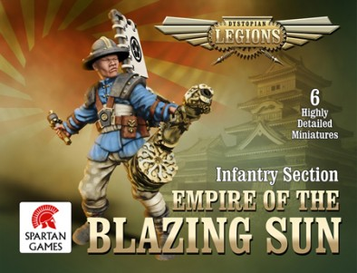 Empire of the Rising Sun Infantry Section