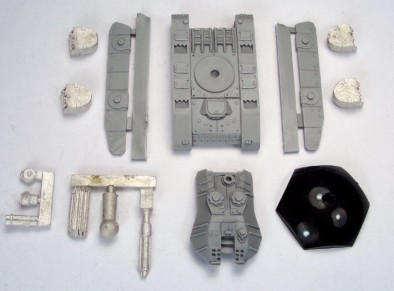 Fusilier Resin and Metal Parts