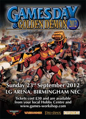 Games Day UK 2012