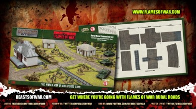 Get where you're going with Flames of War Rural Roads