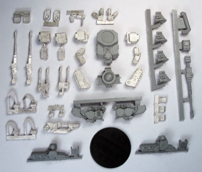Hussar Walker Resin and Metal Parts