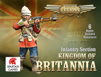 Kingdom of Britannia Infantry Section