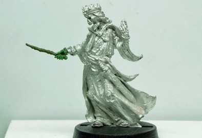 Lich with Wand