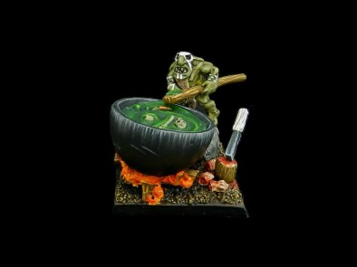 Painted Goblin Cannibal Cook