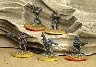 Pangalactic Legion Command and Heavy Weapons Pack