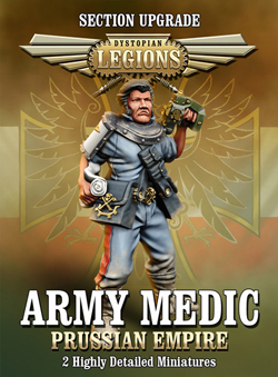 Prussian Empire Army Medic