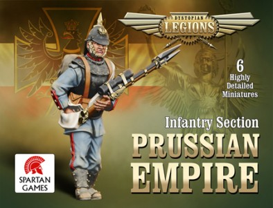 Prussian Empire Infantry Section