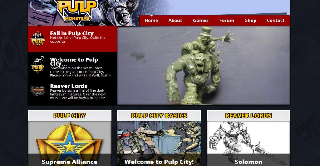 Commies Run in Fear From Pulp City's Latest Hero – OnTableTop – Home