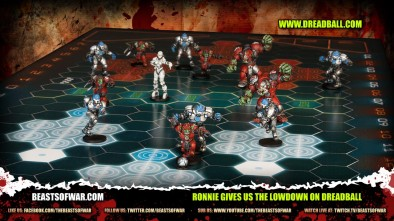 Ronnie gives us the Lowdown on Dreadball 2