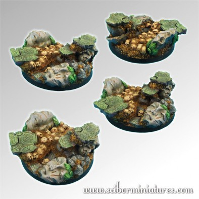 Scibor - Ancient Ruin 60mm Bases