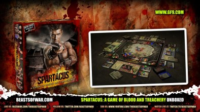 Spartacus: A Game of Blood and Treachery Unboxed
