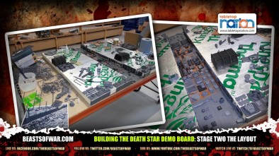 Building The Death Star Demo Board: Stage Two the Layout