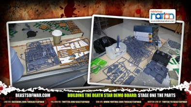 Building The Death Star Demo Board: Stage One The Parts