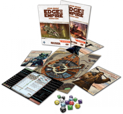Star Wars Edge of the Empire Beginner Game Contents