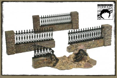 Stonewalls Fence Pieces