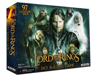 The Lord of the Rings - Dice Building Game