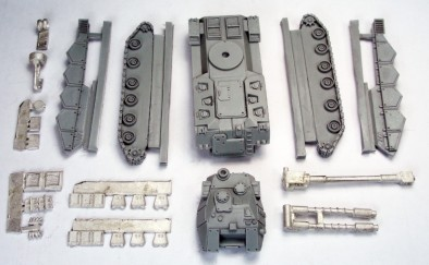 Voltigeur Resin and Metal Parts