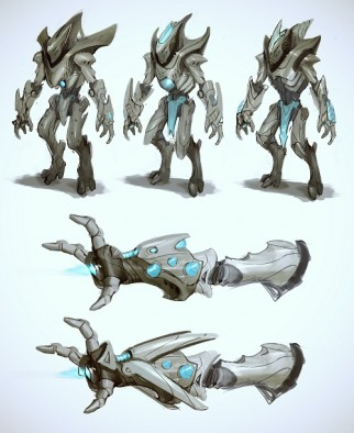 X'Lanthos Manipulator - Early Concept Art