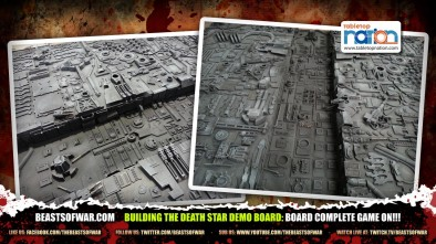 Building The Death Star Demo Board: Board Complete Game on!!!