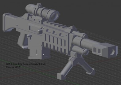 Rifle Render