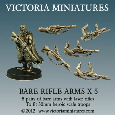 Bare Rifle Arms