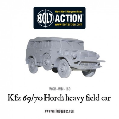 Bolt Action - Horch Heavy Field Car