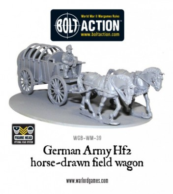 Bolt Action - Uncovered German Field Wagon