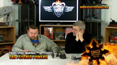 Chaos Space Marines: The Psychic Powers