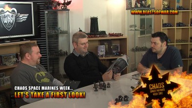 Chaos Space Marines Week... Let's take a first look!