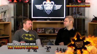 Chaos Space Marines Week: The Troops Section