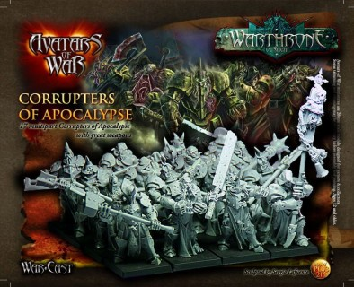 Corrupters of Apocalypse with Great Weapons