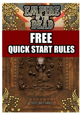 Empire of the Dead - Free Quickstart Rules