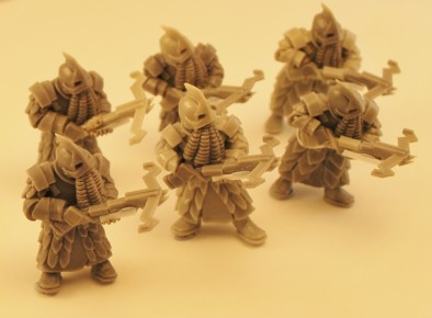 Fallen Dwarves with Crossbows