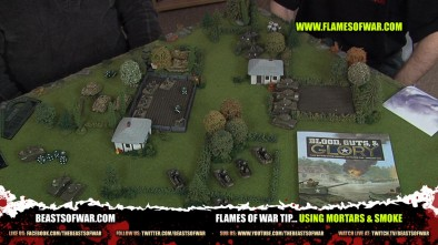 Flames of War Tip... Using Mortars & Smoke