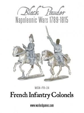 French Infantry Colonels (Front)