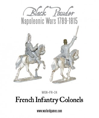 French Infantry Colonels (Rear)