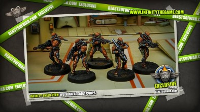 Infinity Sneek Peek: Wu Míng Assault Corps 1