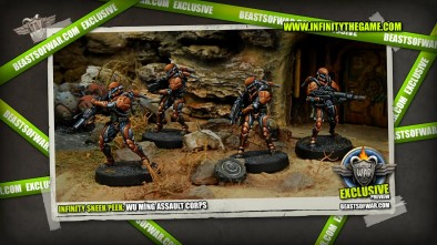 Infinity Sneek Peek: Wu Míng Assault Corps 2